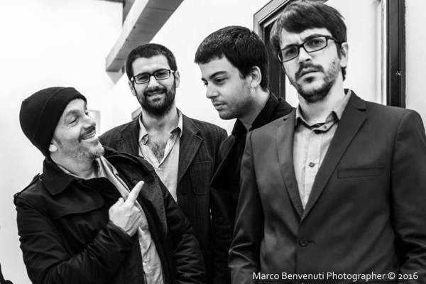 FRANCESCO CUSA & THE ASSASSINS (ph. Marco Benvenuti)