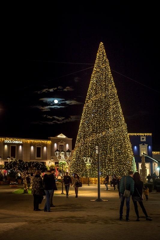 L'albero di Natale più alto della Sicilia